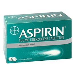 Aspirin 500 mg Tabletten, 80 St. -